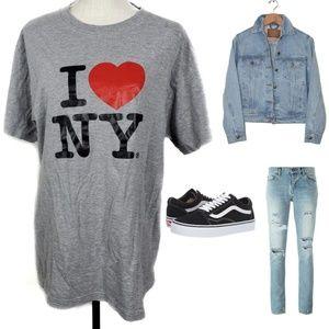 I Heart (Love)  New York Graphic Tshirt